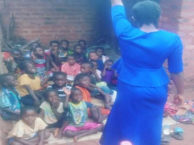 Help to build classrooms for our children