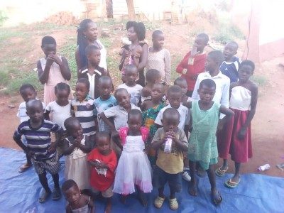 CHILDREN LIVING WITH HIV/AIDS IN THE SLUMS