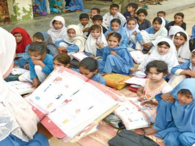 We want to educate the poor children.